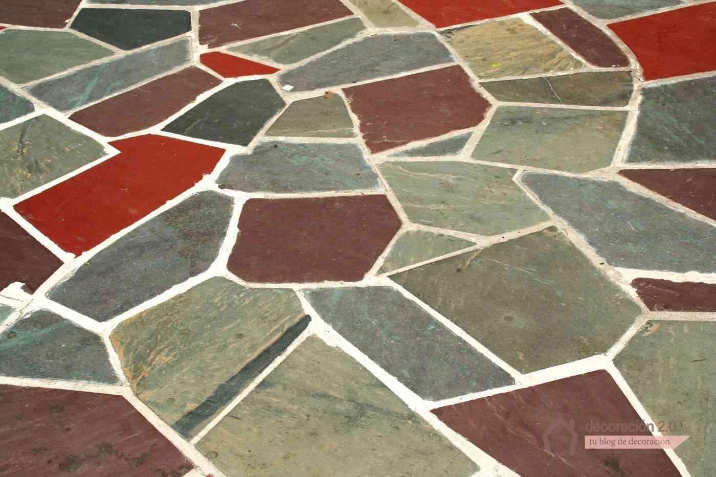 hacer suelo de piedra - colores