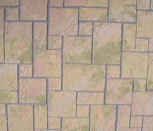 suelo de piedra irregular