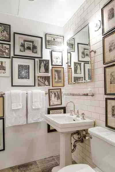 decorar baño