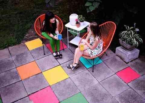 lozas de colores