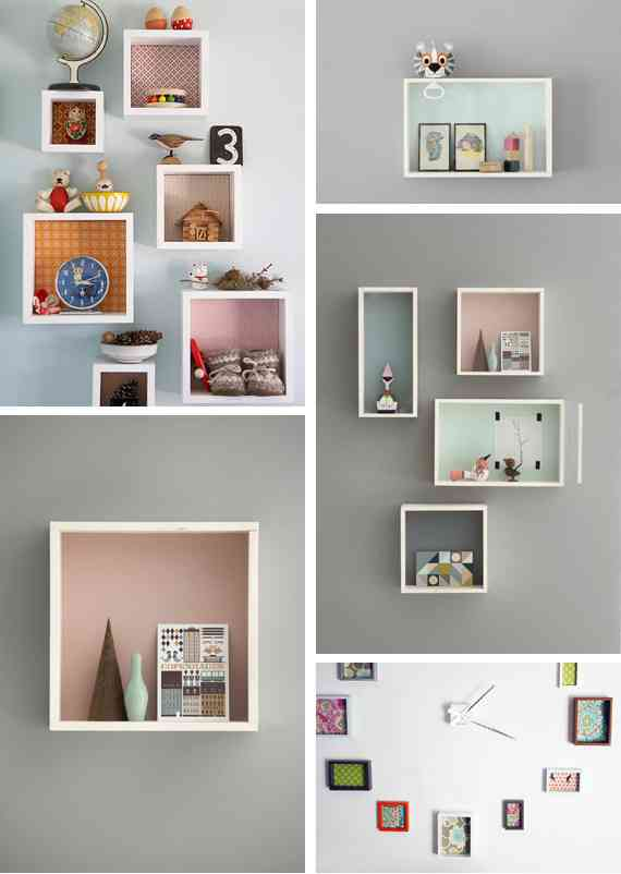 Decora con cajones viejos - Como decorar una pared con madera ...