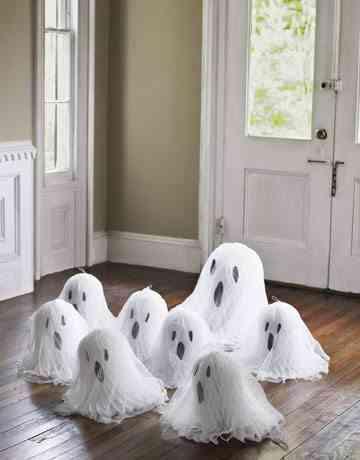 Diy Cómo Hacer Fantasmas Para Halloween