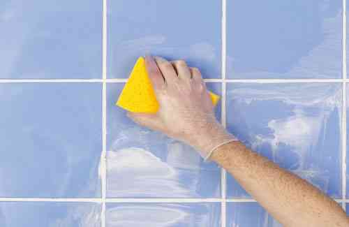 pintura especial para juntas de baldosas o limpia juntas