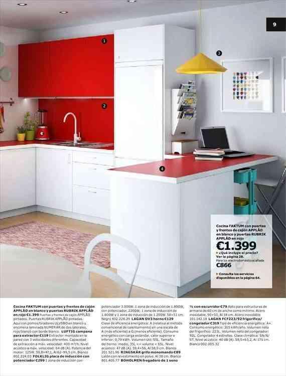 Decoracin de cocinas en colores 2014 Ikea