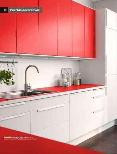 Decoraci n de cocinas en colores 2014 ikea - Ikea muebles modulares ...