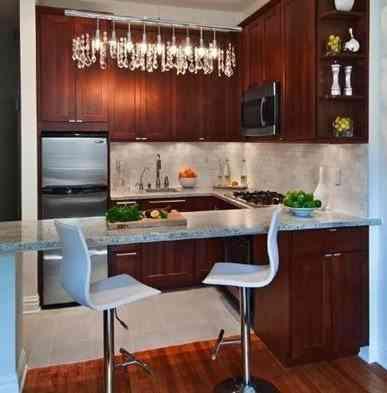 cocina moderna y mini