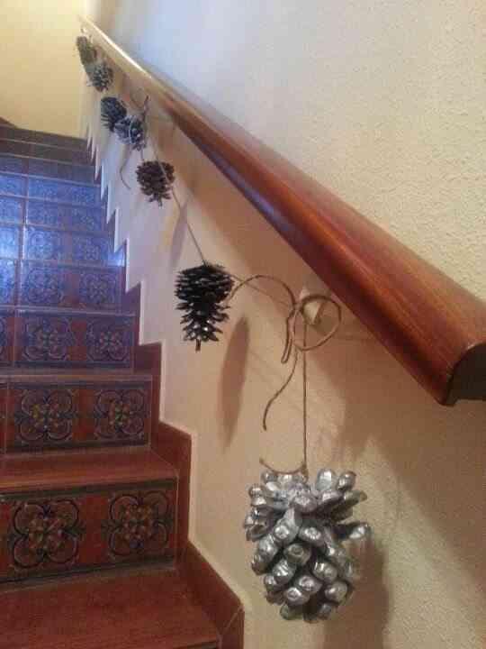 decorar con piñones