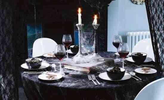 Cmo decorar una mesa ttrica para Halloween