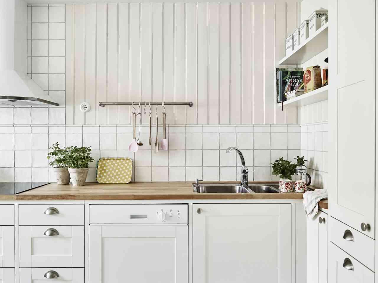 decoración de interiores - casa - cocina blanca