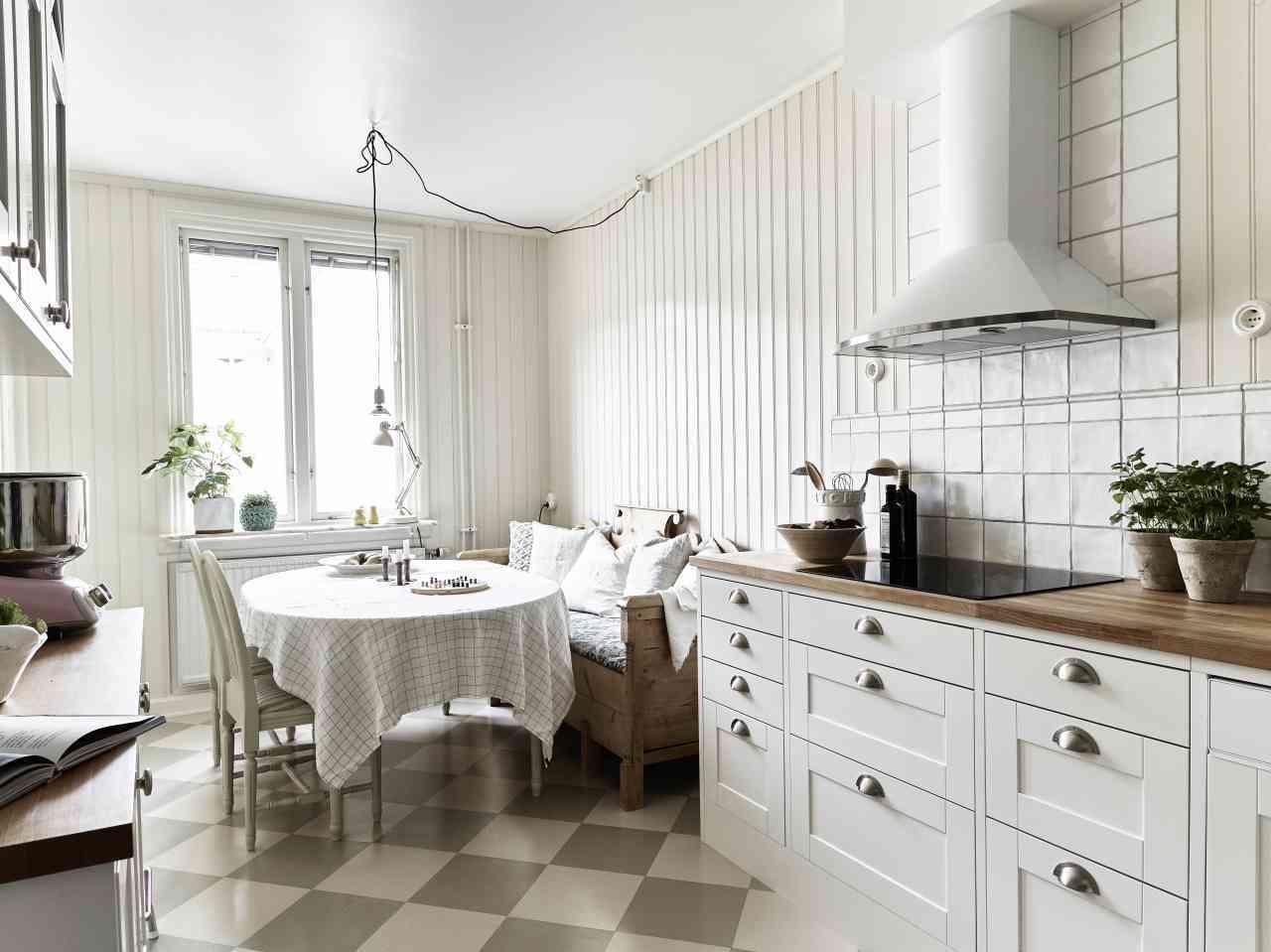decoración de interiores - casa - cocina grande