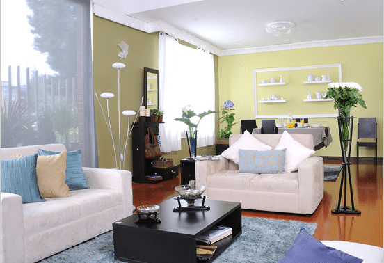 salas y salones modernos luminosidad