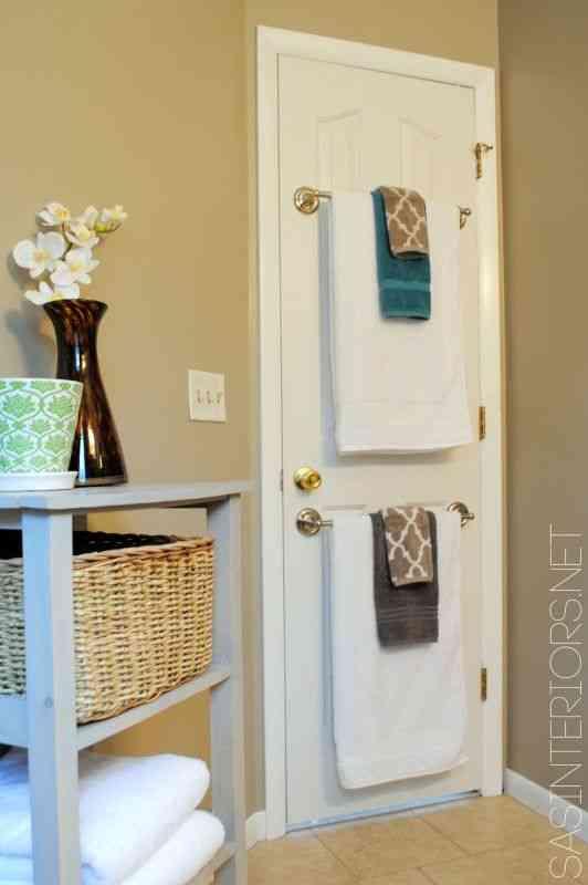 toalleros para baños pequeños - Muebles Toalleros Para Banos