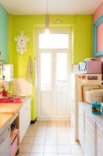 combinación de colores - decorar-cocina