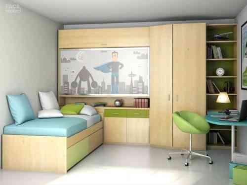 Muebles para dormitorios juveniles f cil mobel for Muebles para dormitorios