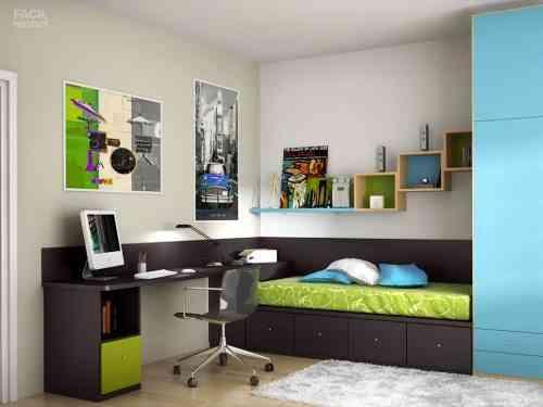 Muebles para dormitorios juveniles dormitorio l for Muebles dormitorio juvenil