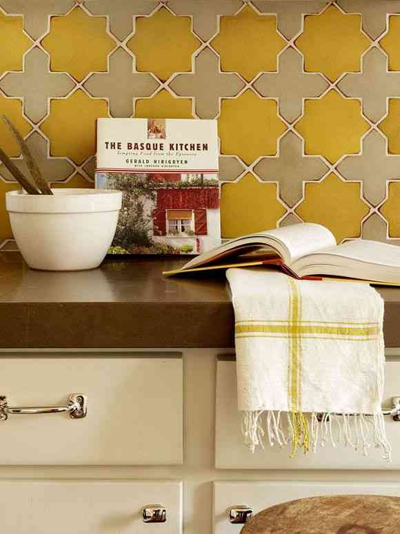 Ideas para decorar la cocina con azulejos