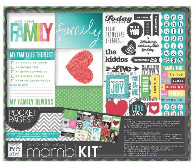 kit de scrapbooking