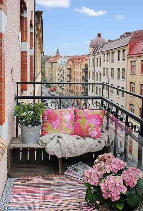 Como Decorar Balcones Con Flores - Fotos-de-balcones-con-flores