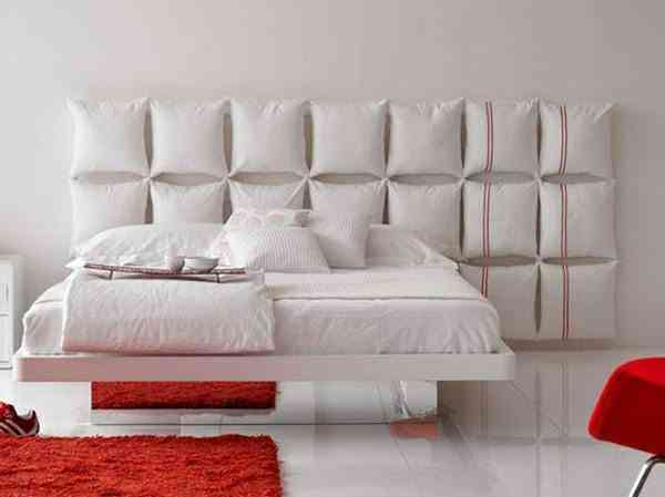 Idea para decorar el cabecero de la cama for Ideas para decorar la cama