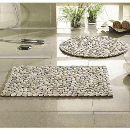 alfombras hechas con piedras hazlas t mismo