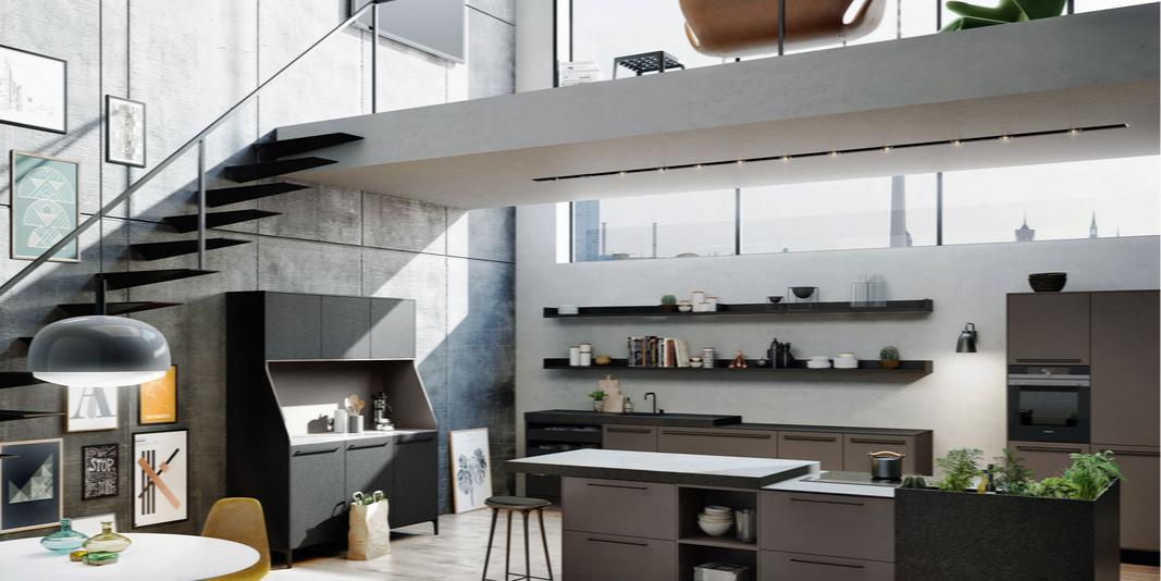 C mo aprovechar el espacio en la cocina for Cocinas pequenas como aprovechar el espacio