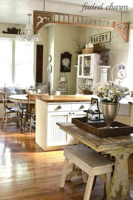 Ideas para cocinas estilo vintage - Cocinas con estilo moderno ...