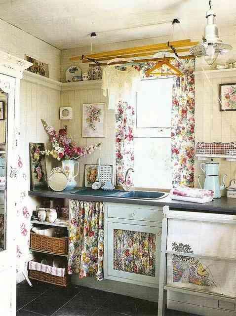 Ideas para cocinas estilo vintage - Cocinas retro vintage ...