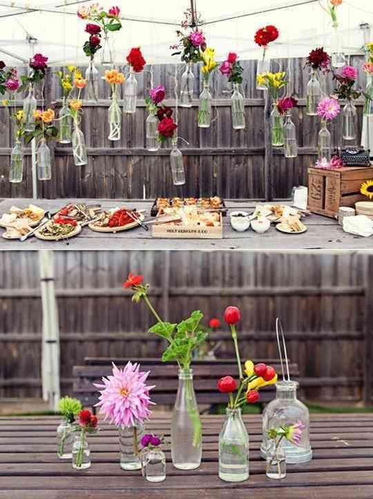 mesa decorativa fiestas decorar las fiestas de verano
