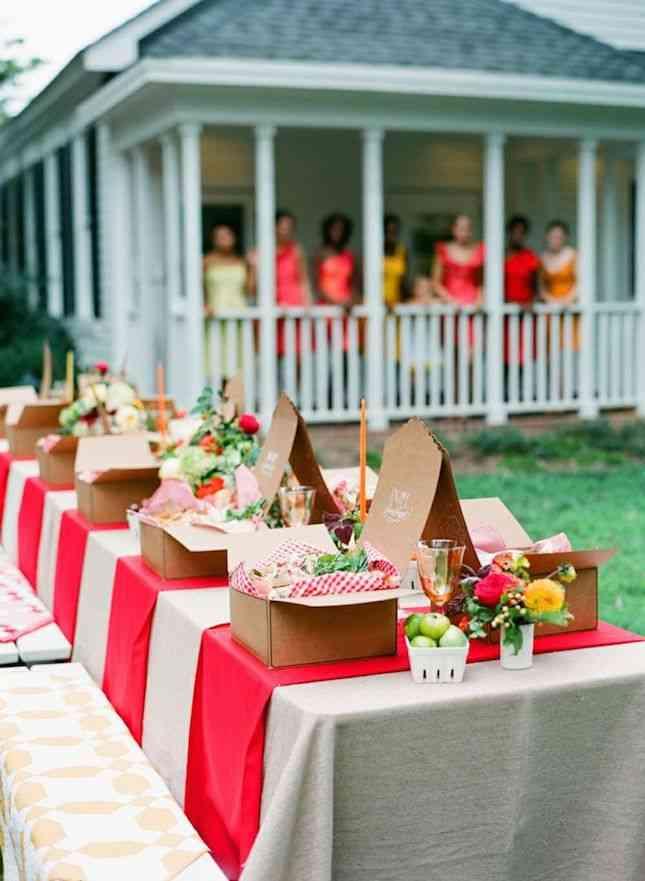 cómo decorar la mesa para decorar las fiestas de verano