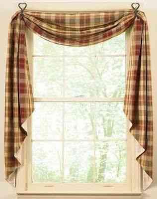 Estilos de cortinas para la cocina te gustar n for Estilos de cortinas