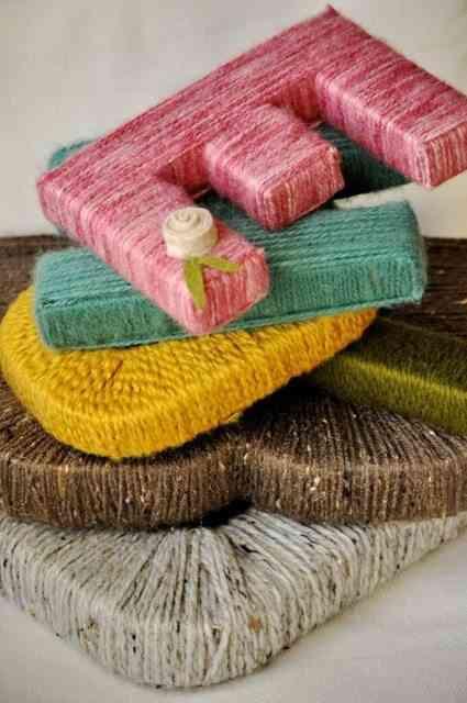 Manualidades para decorar con hilo y lana for Manualidades para ninos con lana