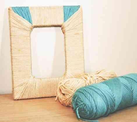 211623c61059 Manualidades para decorar con hilo y lana