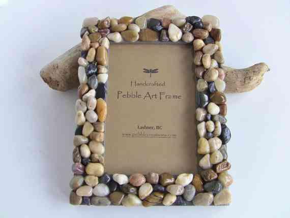 Alfombras hechas con piedras hazlas t mismo - Como decorar un marco de fotos ...