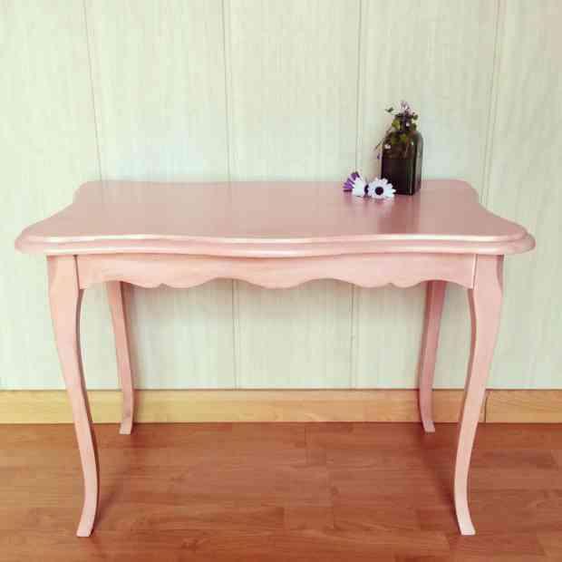 muebles restaurados - mesa restaurada