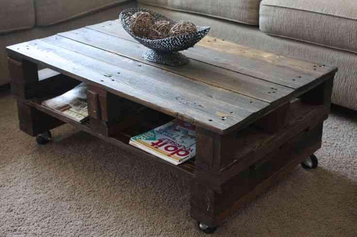 mesas de palé