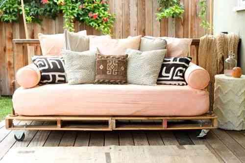 sofa con pallets