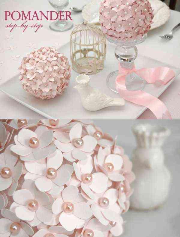 11 tutoriales para hacer flores de papel - Papel para decorar ...