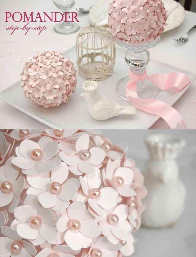Decorar una primera comuni n con esfera con flores - Ideas para decorar una mesa de comunion ...