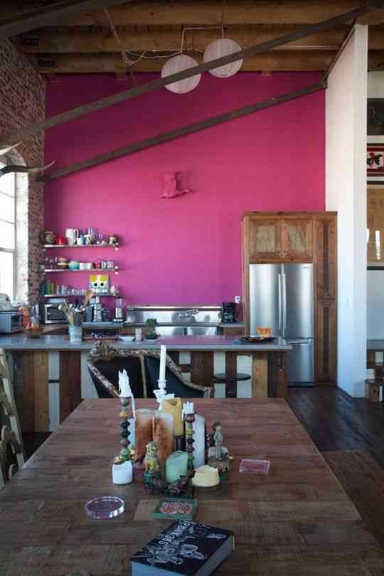 decorar con fucsia