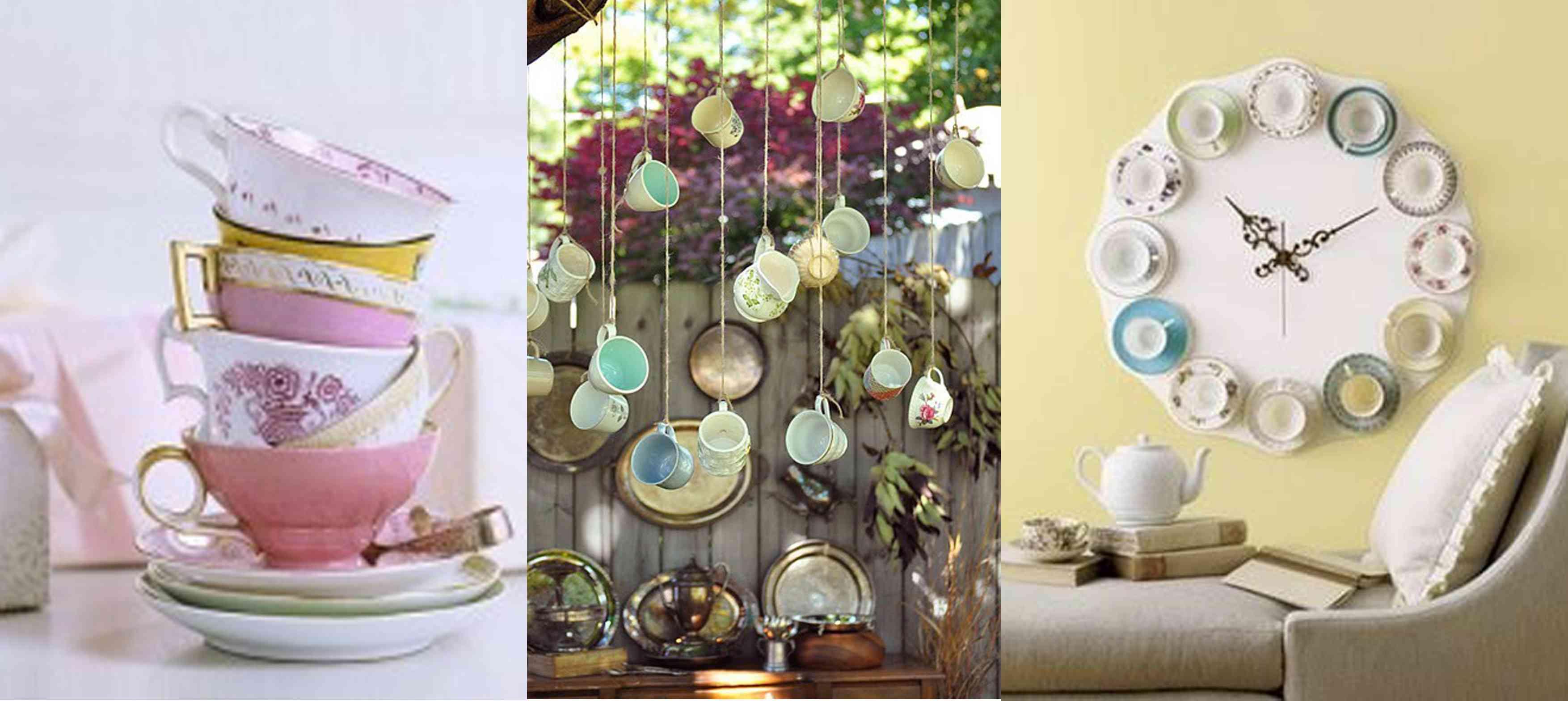 Cómo decorar tazas