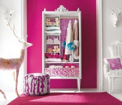dormitorio color fucsia