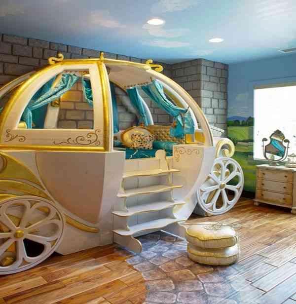 Dormitorios infantiles de fantas a la decoraci n m s - Dormitorio infantil original ...