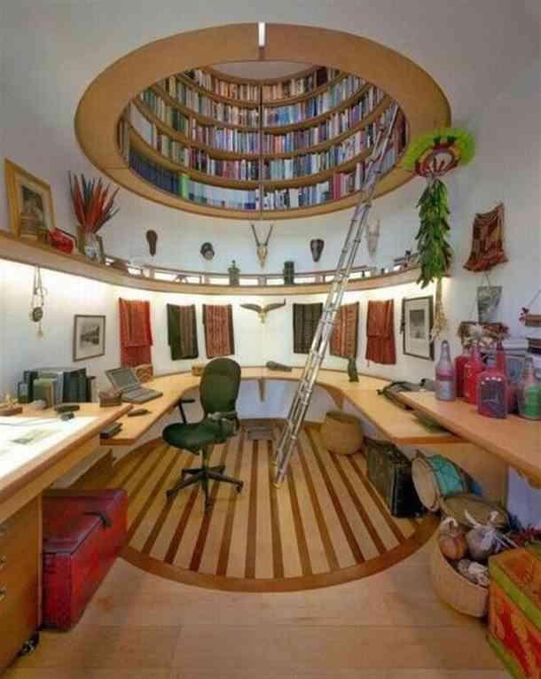 ahorrar espacio - guardar libros - clarabolla