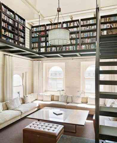 ahorrar espacio - guardar libros - galería