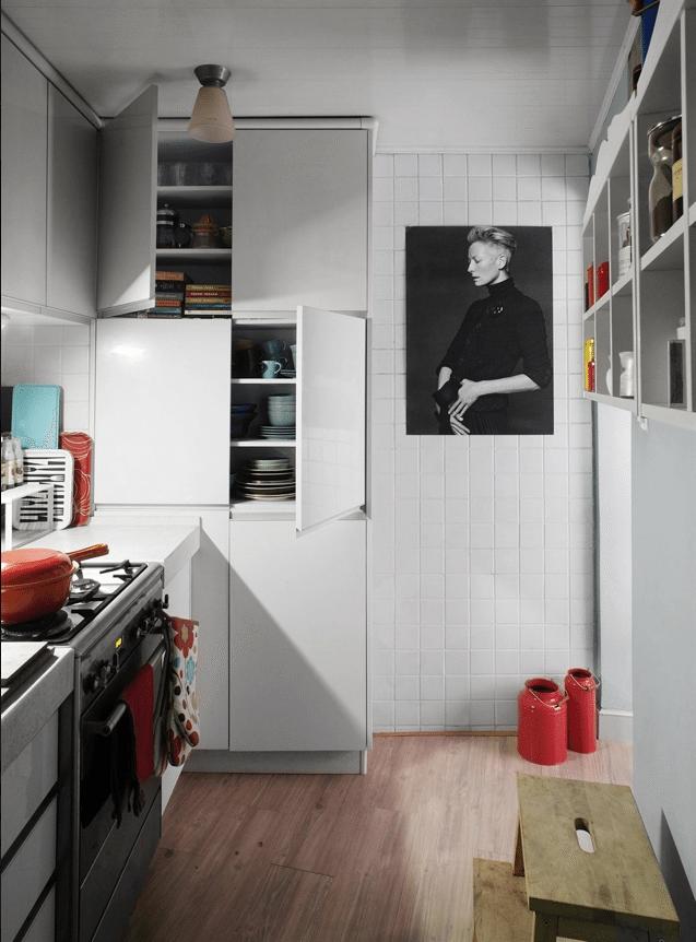 cocina - vivir en una habitacion
