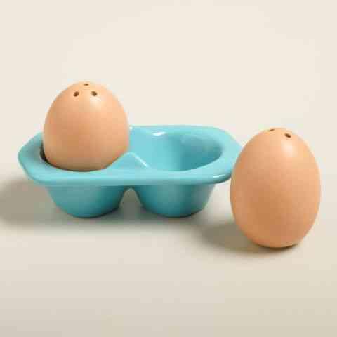 saleros originales - salero huevo