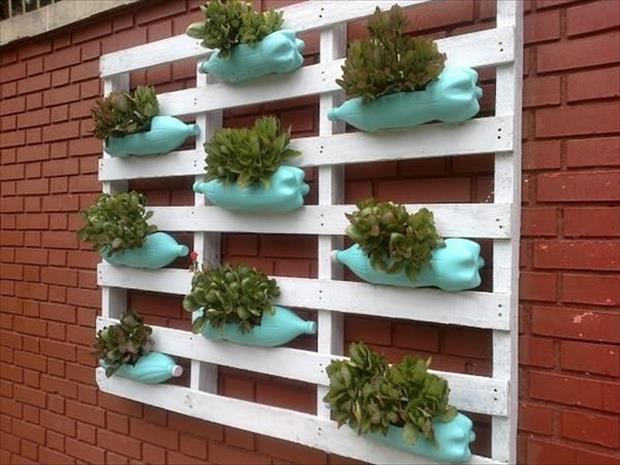 5 Ideas Para Decorar Un Palet - Decorar-jardines-con-palets