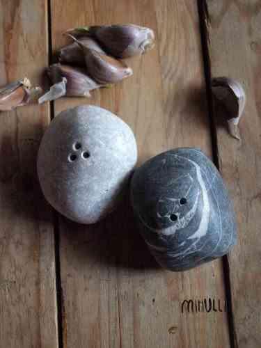 saleros originales - salero piedras