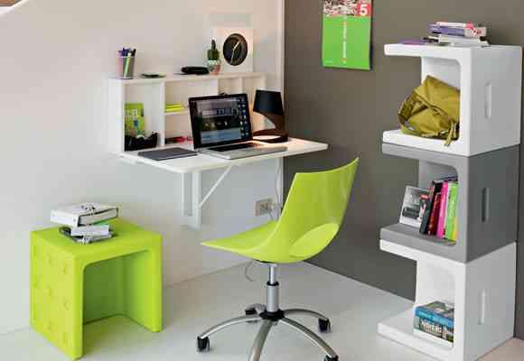 Sillas De Colores Para Oficina.Consejos Para Decorar Una Pequena Oficina
