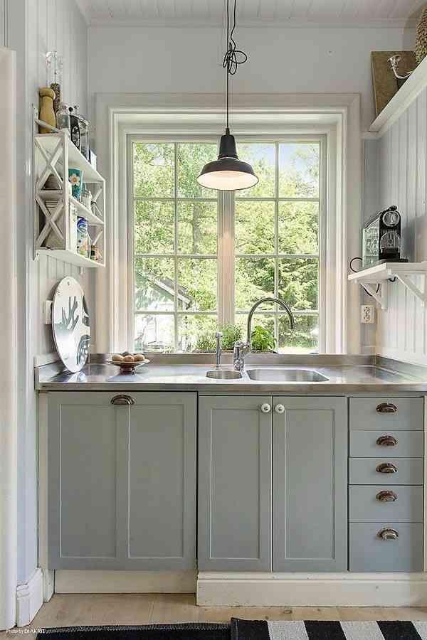 pequeña cocina - ahorrar espacio
